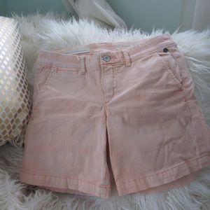 Anthropologie Peach Shorts
